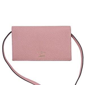 New Gucci Swing Wallet On Strap Cross Body Bag